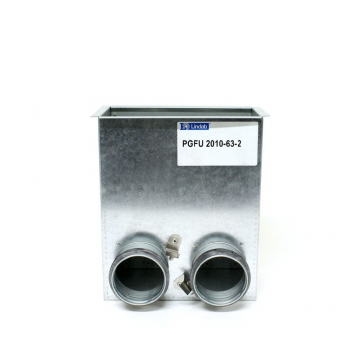 PGFU boks põrandale 200x100   2x63mm