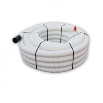 Antistaatiline ja antibakteriaalne ventilatsioonitoru  50 j.m rullis sise/välis=63/75mm
